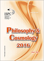 Philosophy and Cosmology 2016