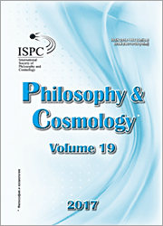 Philosophy and Cosmology 2017-19
