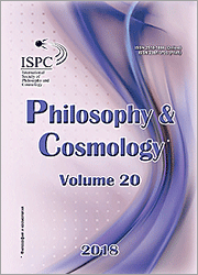 Philosophy and Cosmology 2018-20