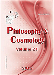 Philosophy and Cosmology 2018-21