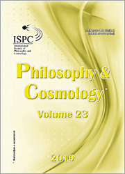 Philosophy and Cosmology 2019-23